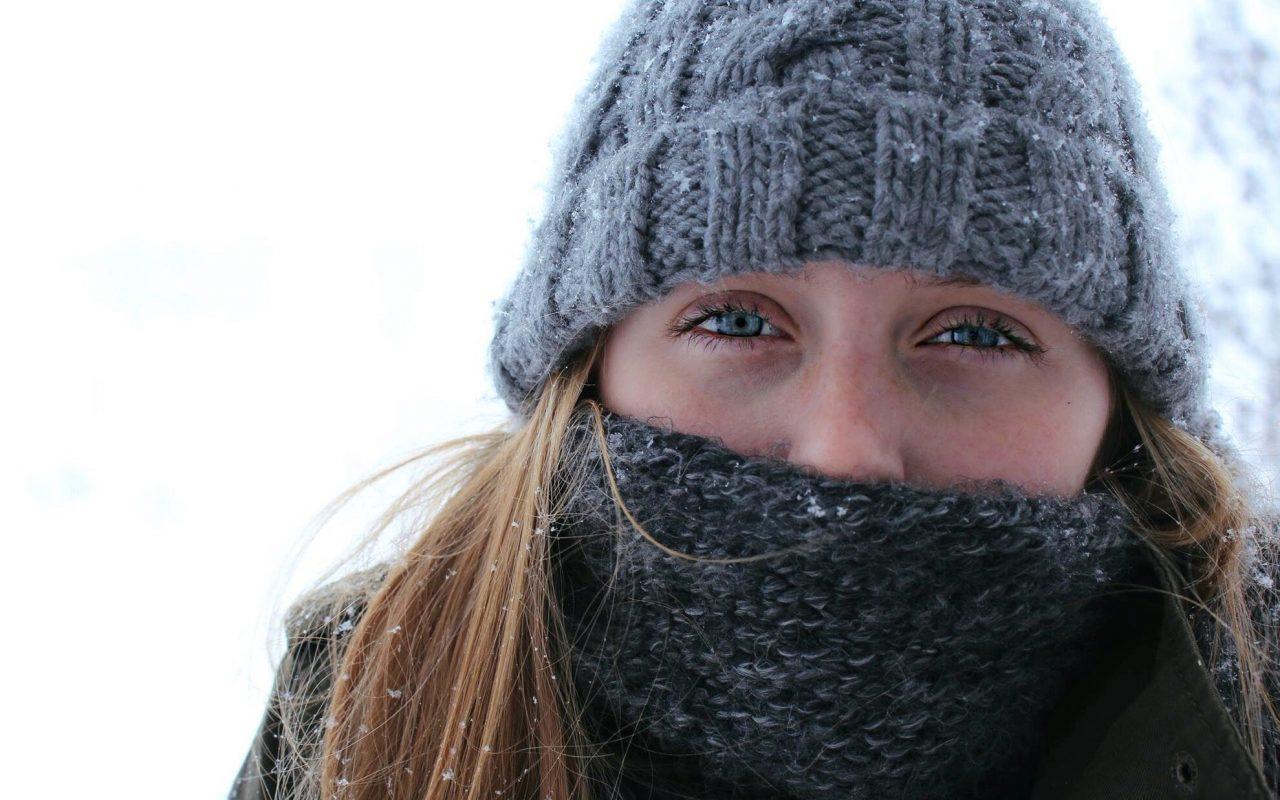 Slik behandler du tørr vinterhud